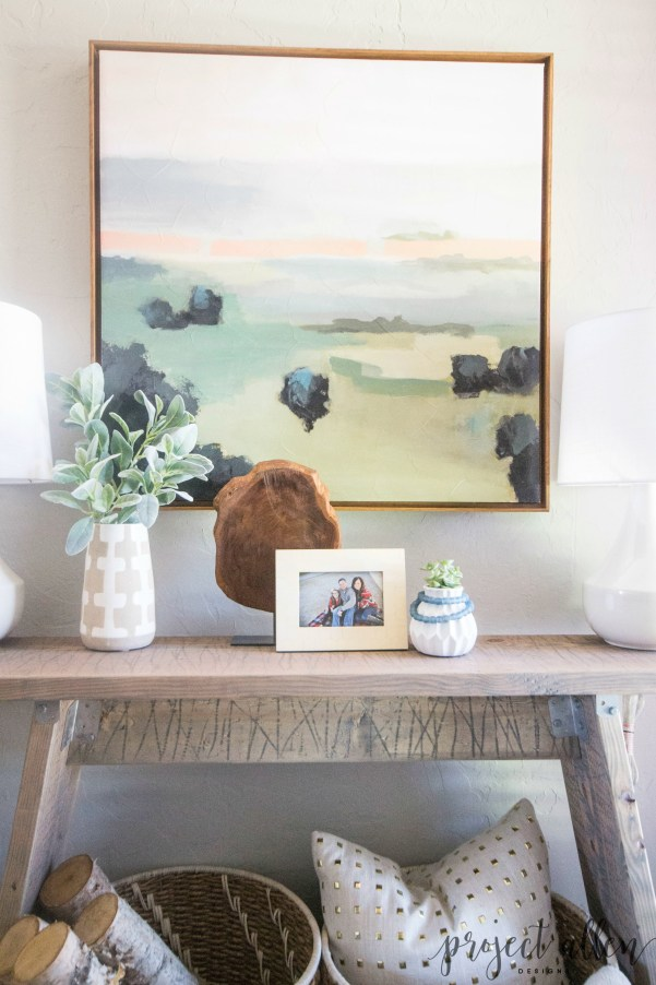 Check out this quick and easy DIY Console Table tutorial and see how we break it down into simple steps that anyone can follow.