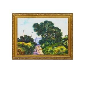 Telephone Poles Art print. oil painting print, home decor ideas, friday favorites.