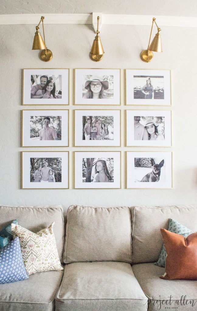 Grid Style Gallery Wall: Easy Tricks For Creating A Stunning Feature Wall