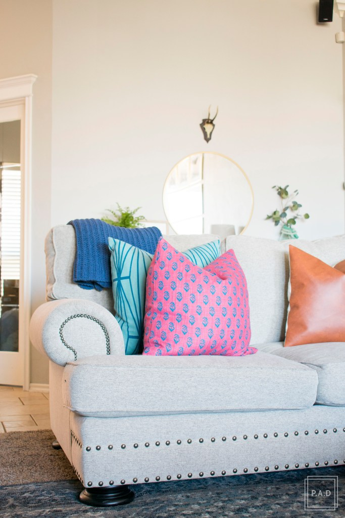 Our Modern Living Room Reveal