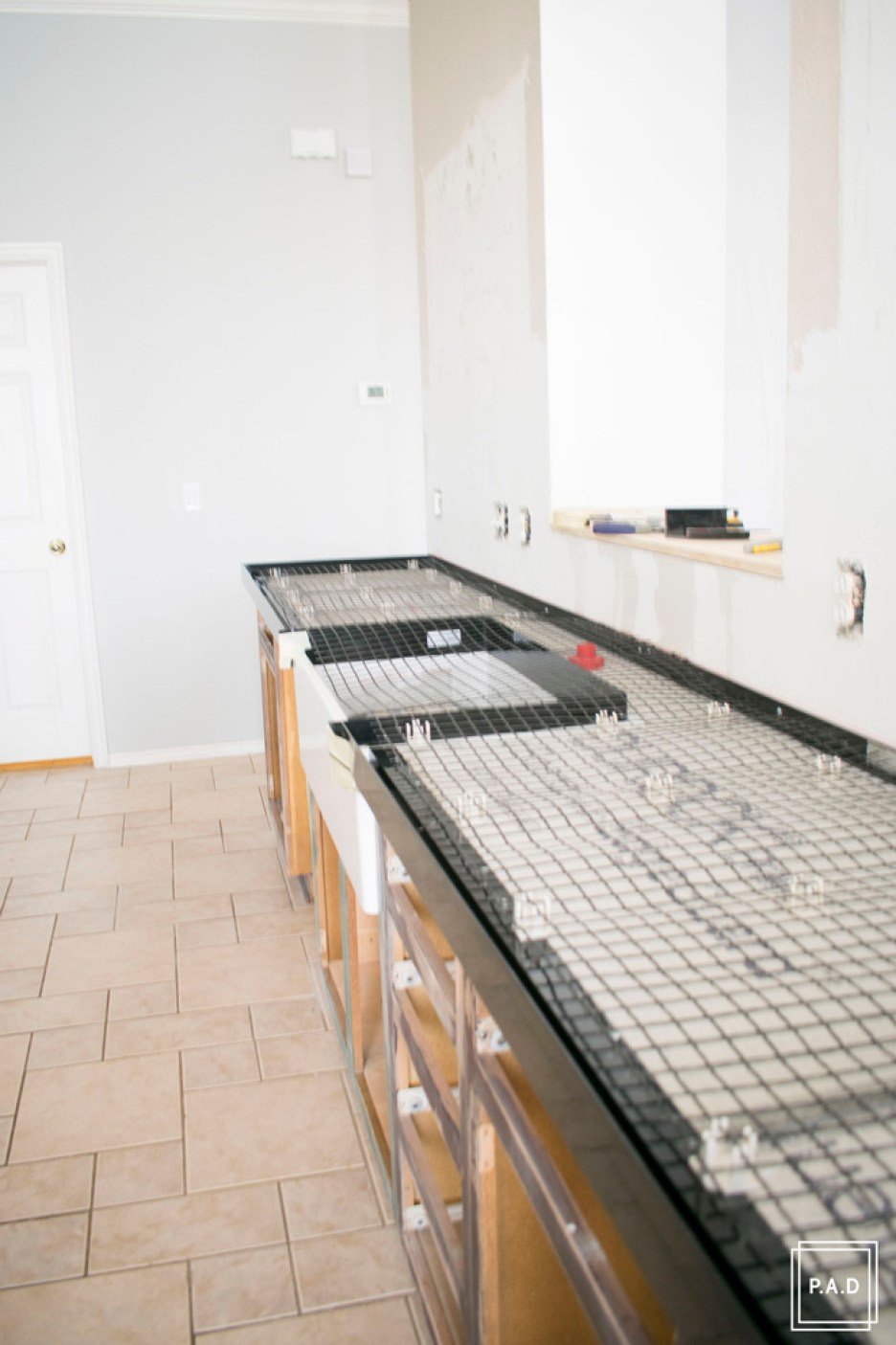 Diy White Concrete Countertops Project Allen Designs