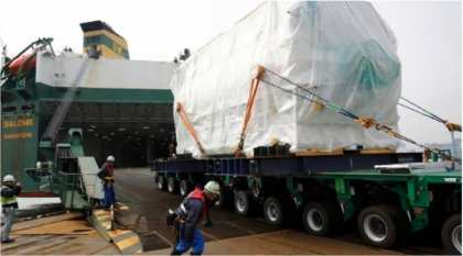 Power Generators - 242mt each - Japan to USA
