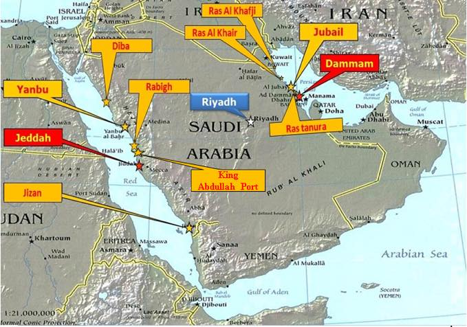 Seaports of Saudi Arabia