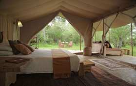 Safari Camp in Maasai Mara Kenya