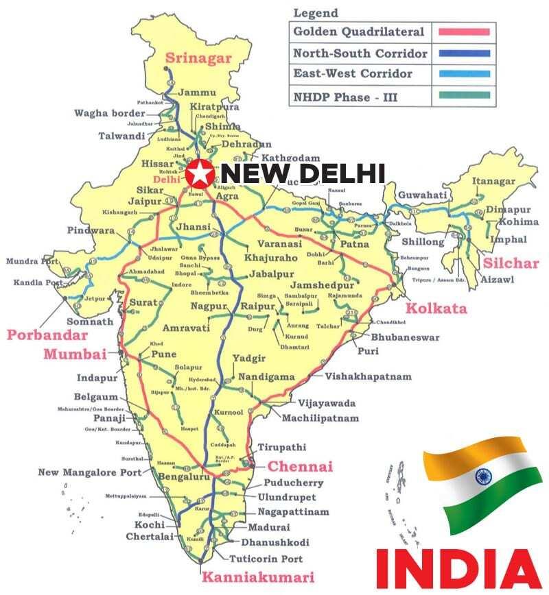 Map India