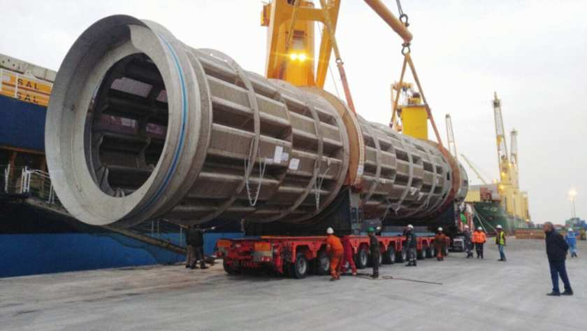 00 Mtons 30m long drum pulper