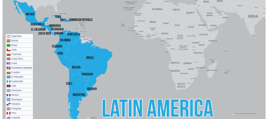Latin-America-Map