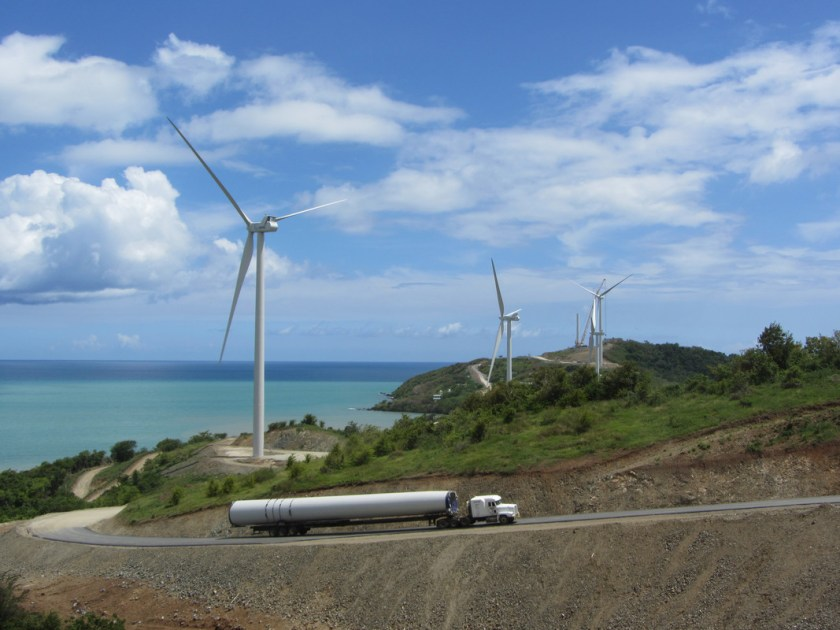 Projects, wind, special transport, truck, landscape