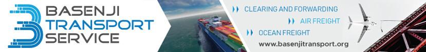 Basenji Transport Banner