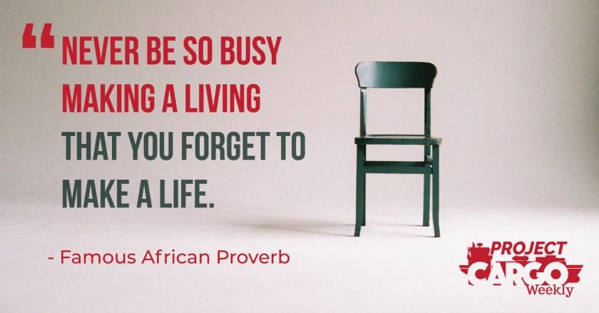 PCW Week 5 Proverb