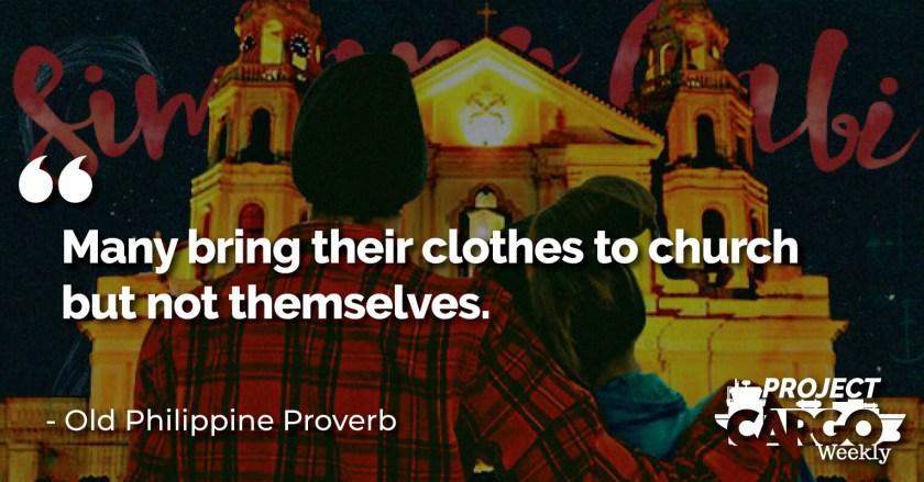 Week 17 proverb