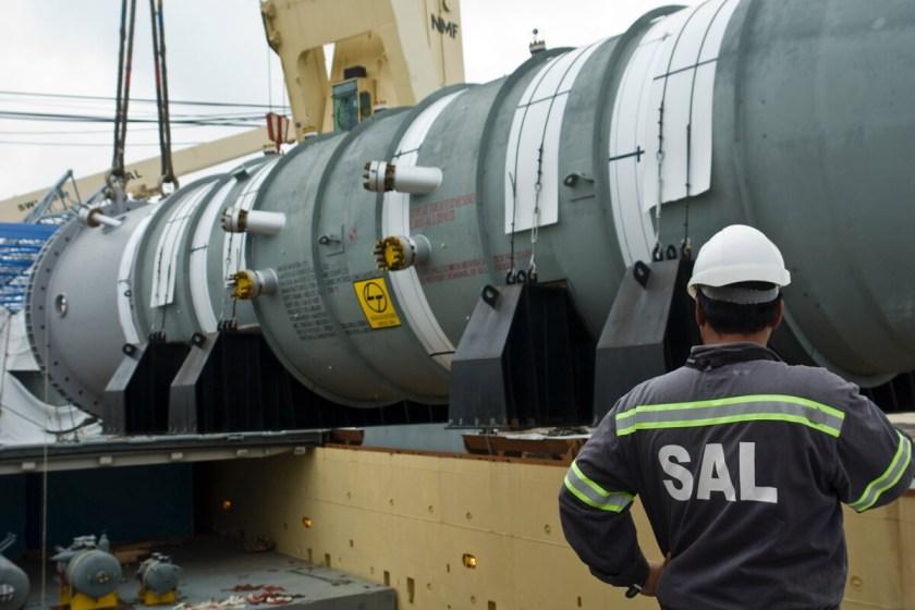 mv Anne-Sofie loaded the heaviest Reactor