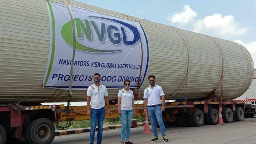 VGL - Industrial Dryer Project Shipment