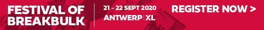 Festival of Breakbulk AntwerpXL banner