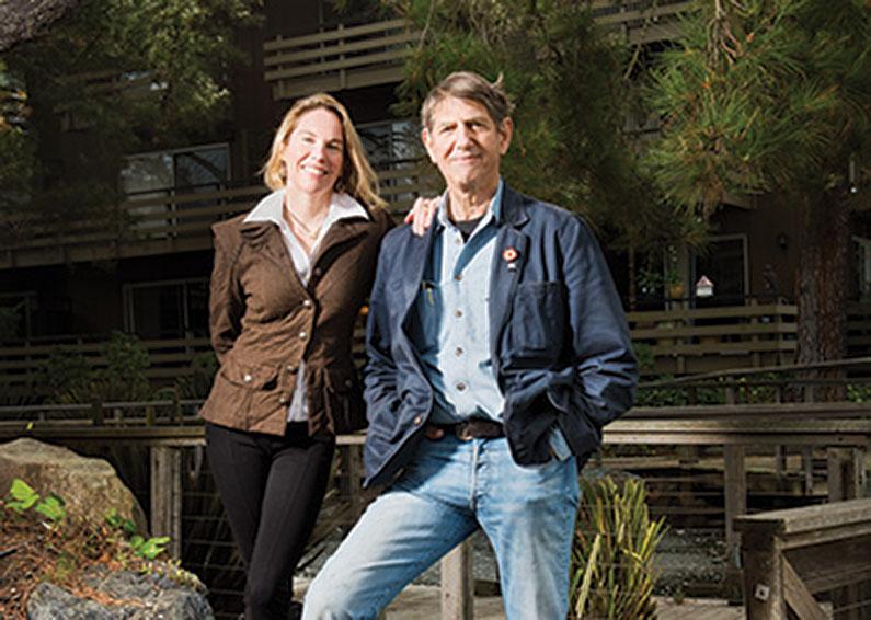 Peter Coyote & Camilla Fox