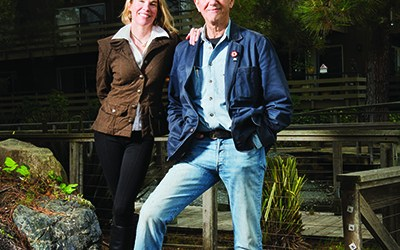 Peter Coyote and Camilla Fox