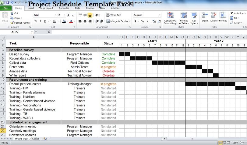 gantt chart scheduling project gantt chart example gantt chart