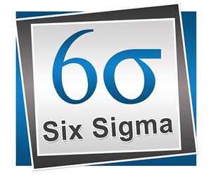 Six sigma graphic