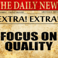 Newspaper - Focus on Quality