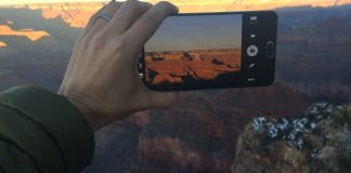 Capturing a Grand Canyon Sunset on the Galaxy Note 5