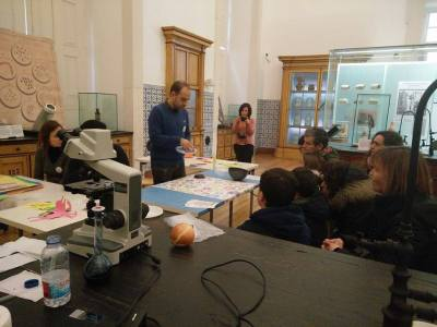 Science in Family event at the Science Museum of Coimbra University, Portugal.