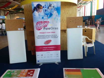 FOIE GRAS project at III Science Fair-Oliveira do Bairro, Portugal 5