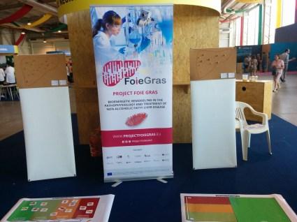 FOIE GRAS project at III Science Fair-Oliveira do Bairro, Portugal 5