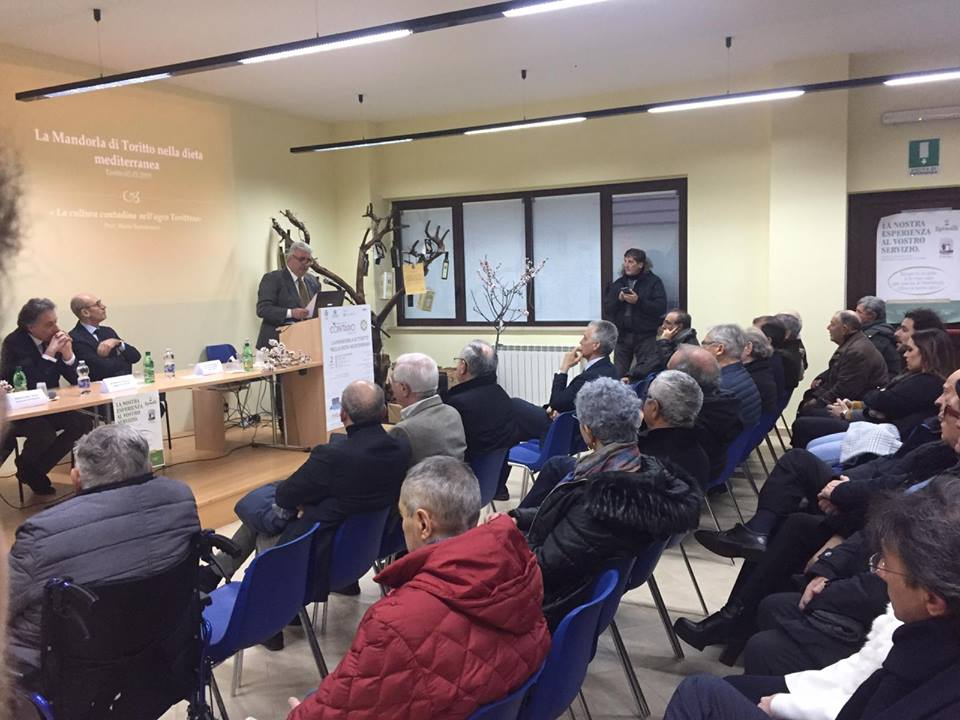"""Second Meeting and Conference """"Toritto: terra generosa di prodotti salutistici, tra mandorla, olio e stile di Vita"""""""