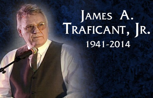 Hon. Jim Traficant, R.I.P. b. May 8, 1941 - d, September 27, 2014 Director, ProjectFreedomUSA.org Quarterback, U of Pitt, 1960-62; Sheriff, Youngstown, Ohio 1981-85; US Congressman, 1985-2002;