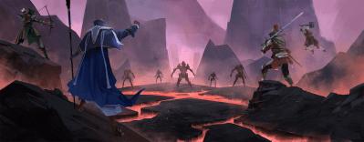 Lava Dungeon Battle