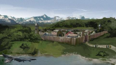 Concept art: Settlement