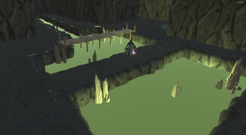 Screenshot from a dungeon crawler game