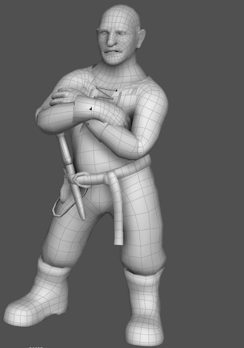 3D model of dwarf