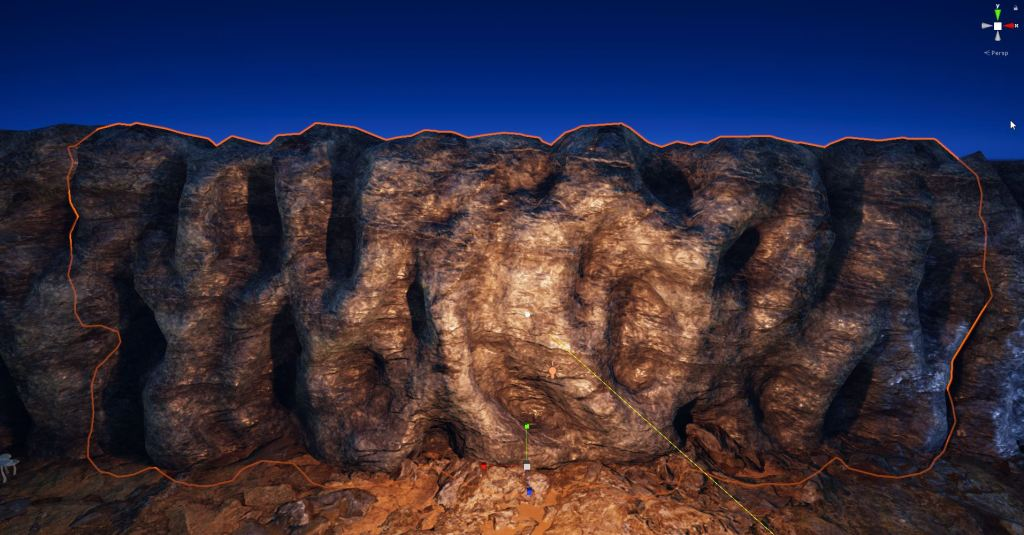 Modular cave walls in Unity