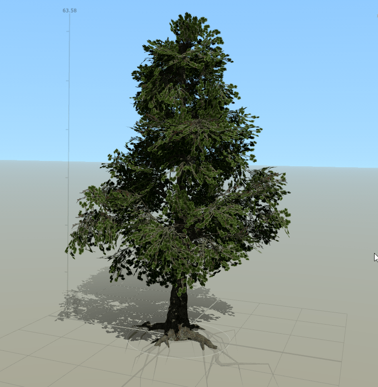 Tree asset in Unity