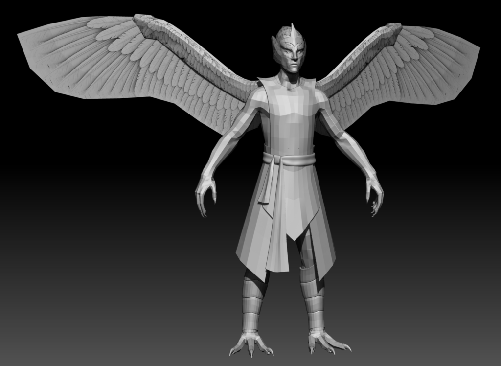 Low mesh of Daggerclaw Harpy