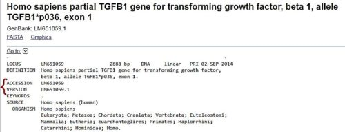 giving basic information about TGF-β1 gene