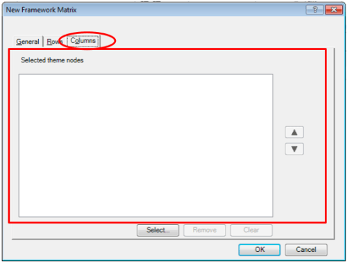 Figure 9: Step 3 at New Framework Matrices in Nvivo