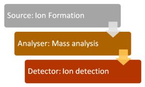 Steps in Mass Spectrometry