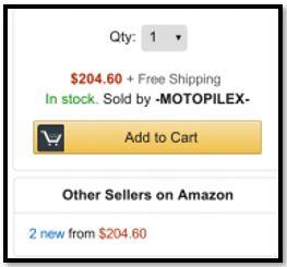 Image of Buy Box of Amazon