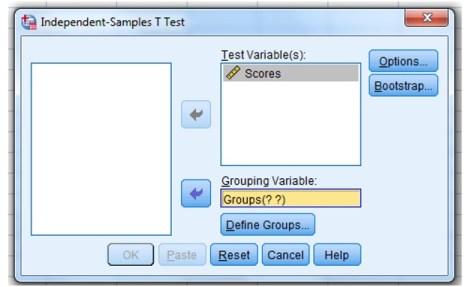 Importing independent and dependent variables data