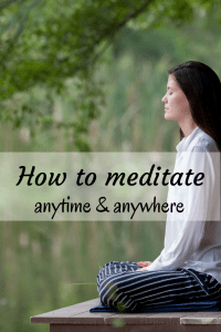 Meditation doesn't have to be complicated, anyone can do it regardless of how busy they are! Learn simple and practical ways to meditate anytime, no matter where you are!