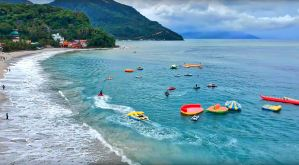 VIDEO: Puerto Galera White Beach Resort Aerial Tour