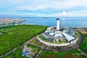 PHOTO: SM Seaside City Cebu Aerial View
