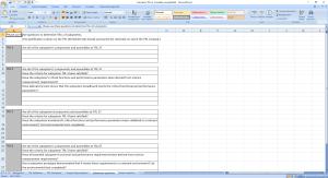Calcolatore TRL su Excel 5