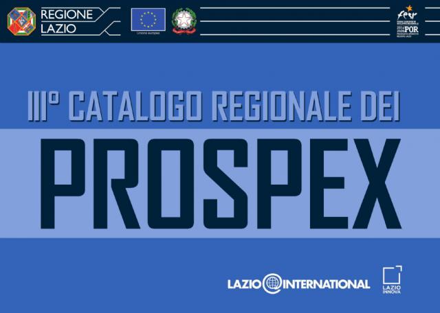 Terzo Catalogo PROSPEX