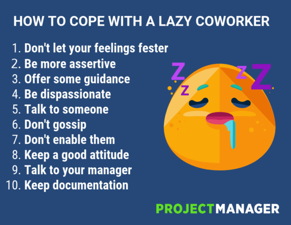 Ways to Cope With a Lazy Coworker