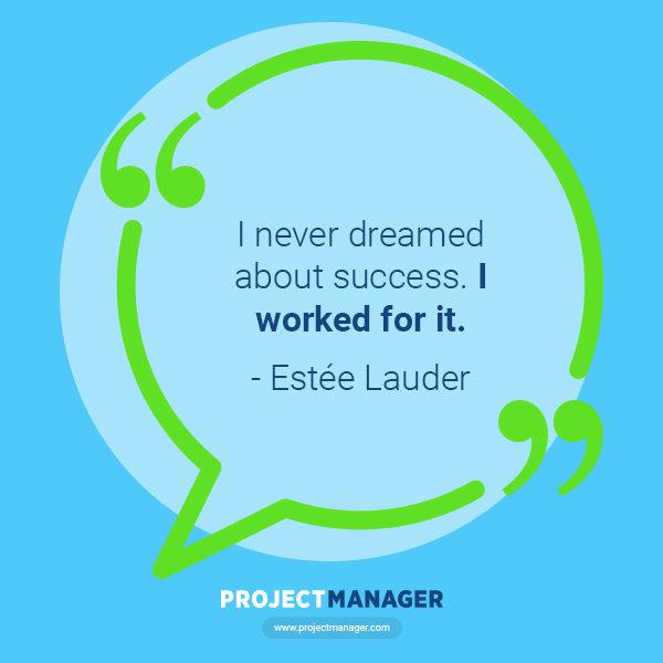 Estee Lauder business quote