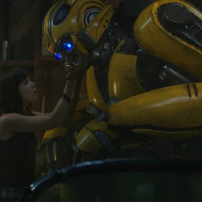 L'iconico maggiolino giallo arriva in home video: BUMBLEBEE