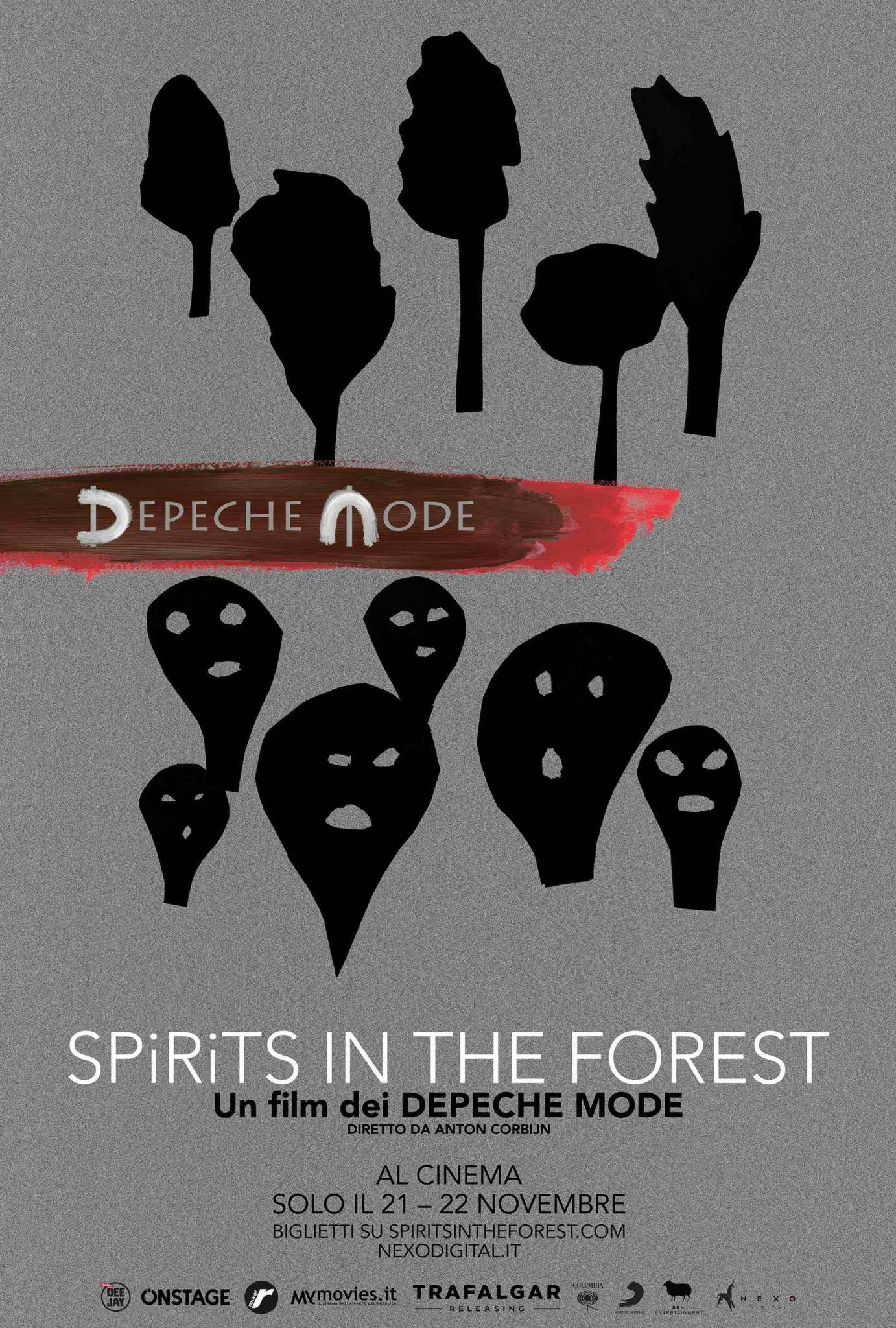 I DEPECHE MODE al cinema con DEPECHE MODE: SPIRITS IN THE FOREST